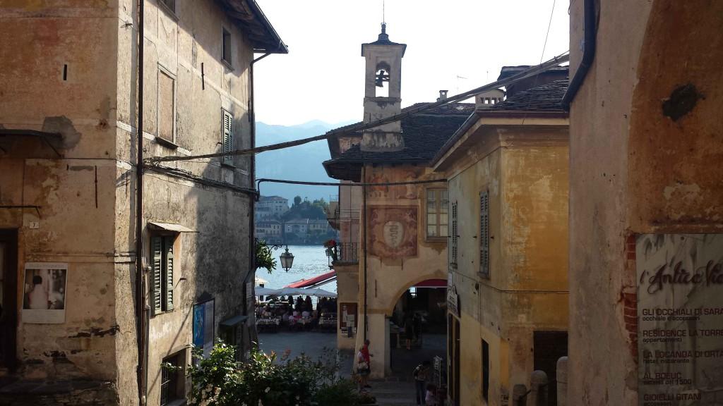 озеро орта в италии