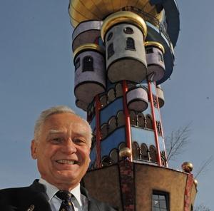 Eröffnung Hundertwasserturm