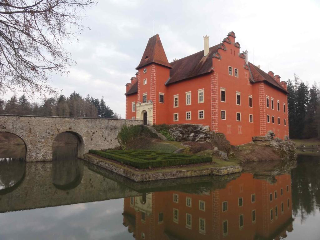 замок червена лгота чехия