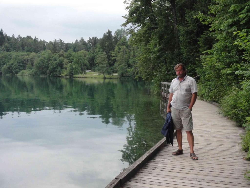 озеро блед словения