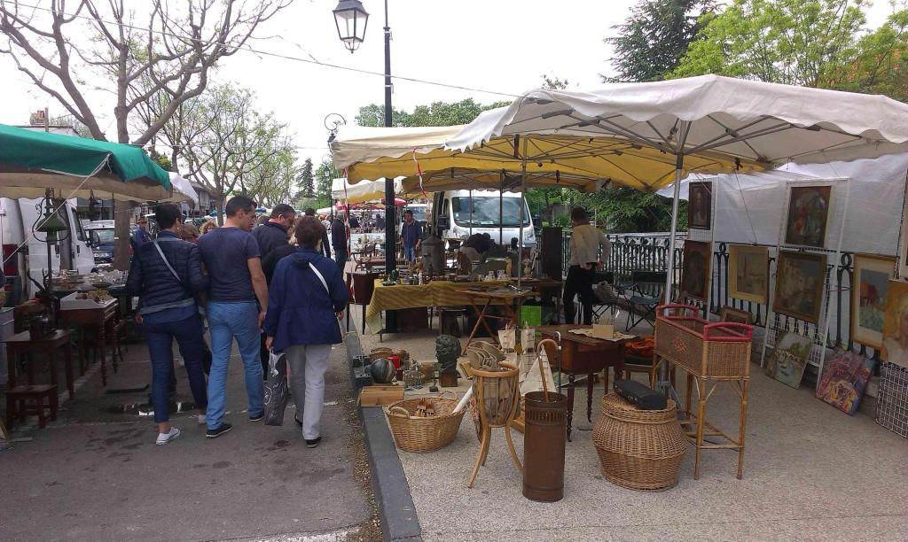 антикварные рынки прованса
