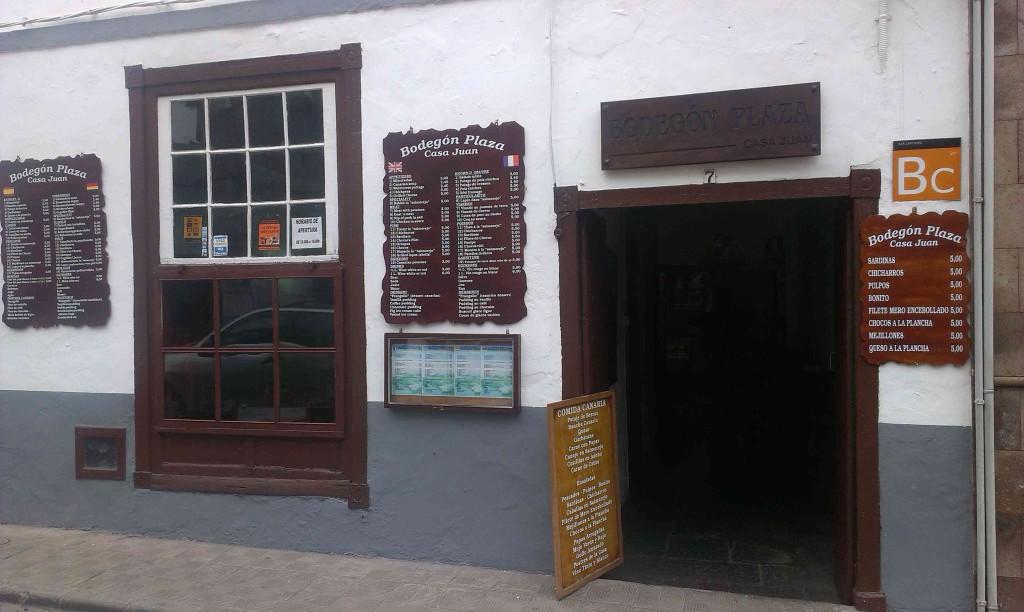тенерифе где поесть