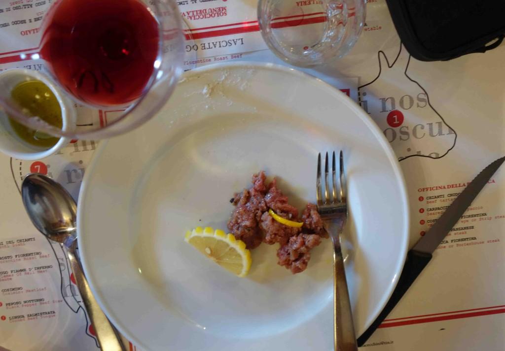 Флорентийский стейк дарио